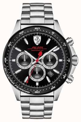 Scuderia Ferrari Pilota Edelstahl 0830393