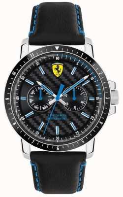 Scuderia Ferrari Turbo schwarzes Lederband 0830448
