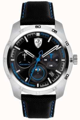 Scuderia Ferrari Primato schwarz und blau Zifferblatt 0830445