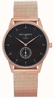 Paul Hewitt Unisex-Signatur Roségold Mesh PH-M1-R-B-4M