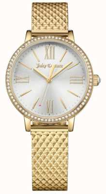 Juicy Couture (keine Box) Womans Socialite Uhr Gold 1901613