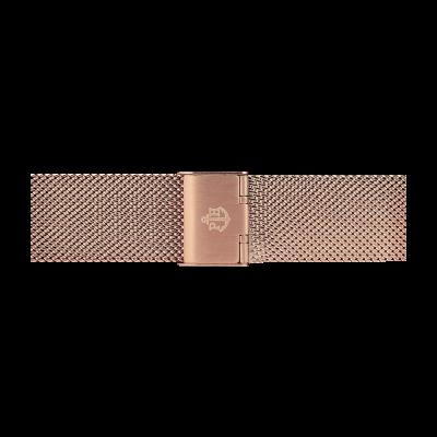 Paul Hewitt Roségold-Armband aus Edelstahlgewebe, 186 mm PH-M1-R-4M