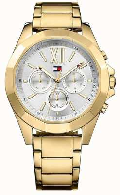 Tommy Hilfiger Womens chelsea gold Tone Chronograph 1781848