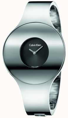 Calvin Klein Womans Silber Stahl nahtlose Uhr Medium K8C2M111