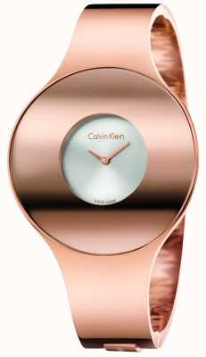 Calvin Klein Womans Rose Gold Ton nahtlose Uhr klein K8C2S616