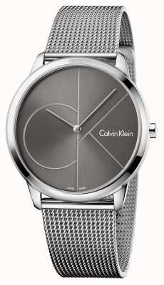 Calvin Klein Unisex Minimal Uhr Mesh Strap K3M21123