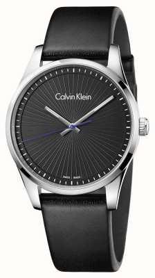 Calvin Klein Mens standhaftes Uhrschwarzes K8S211C1