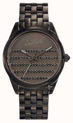 Jean Paul Gaultier Navy Gun Metal Armband und Zifferblatt JP8502406