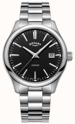 Rotary Herren Oxford Uhr Edelstahl Armband GB05092/04