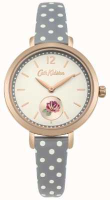 Cath Kidston Khaki Sport print rose print Zifferblatt Polkadot Armband CKL036NRG
