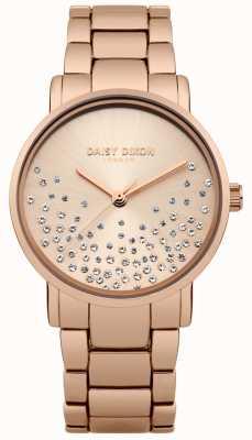 Daisy Dixon Rose Gold Armband Roségold Sunray Zifferblatt DD053RGM