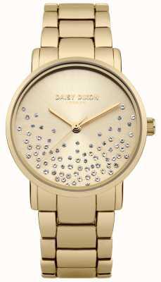 Daisy Dixon Goldarmband Gold Sunray Zifferblatt Glitzer DD053GM