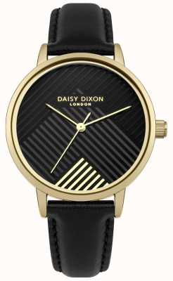 Daisy Dixon Schwarzes Armband mit mattschwarzem Zifferblatt DD056BG