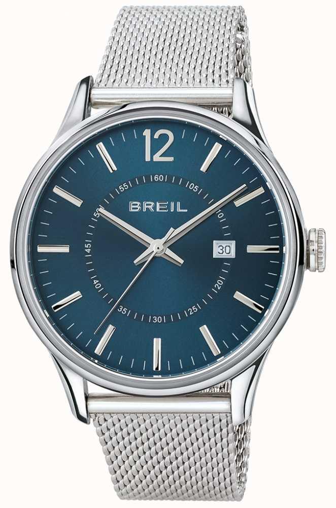 Edelstahl Armband Blaues Breil Contempo Mesh Zifferblatt Tw1560 Y6ygbfv7