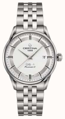 Certina Herren ds-1 Powermatic 80 Automatikuhr C0298071103160