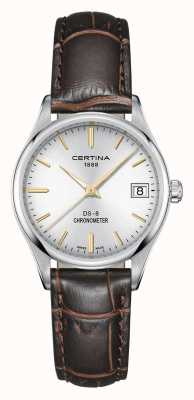 Certina Damen ds-8 Quartz Chronometer Uhr C0332511603101