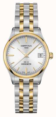 Certina Damen ds-8 Quartz Chronometer Uhr C0332512203100