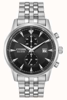 Citizen Mens Chronograph Datum Silber Stahlarmband CA7000-55E