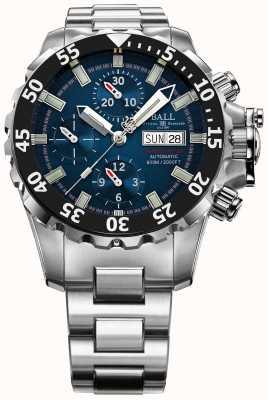 Ball Watch Company Mens Ingenieur blau nedu Kohlenwasserstoff 600m automatische Chrono DC3026A-SC-BE