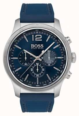 Hugo Boss Chronograph Herrenuhr blau 1513526