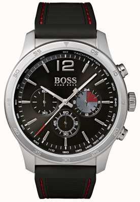 Boss Professionelle Herren Chronographenuhr schwarz 1513525