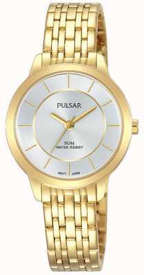 Pulsar Gold vergoldetes Edelstahlarmband 50m PH8370X1