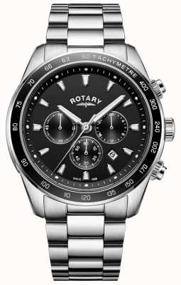 Rotary Herren Armband Henley Edelstahl Chronograph GB05109/04