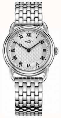 Rotary Canterbury-Armband aus Edelstahl für Damen LB05335/21