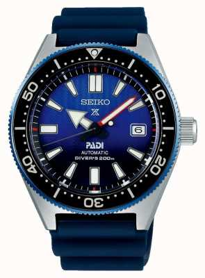 Seiko Prospex padi Recreation blaues Zifferblatt blau Harzband SPB071J1
