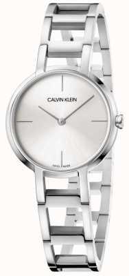 Calvin Klein Damen cheers silberne Edelstahluhr K8N23146