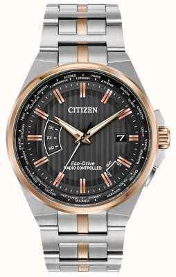 Citizen Herrenwelt ewig bei Edelstahl & Roségold IP CB0166-54H