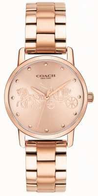 Coach Großartige Armbanduhr und Gehäuse aus Rotgold für Damen 14502977
