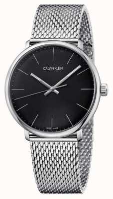 Calvin Klein Mens High Noon schwarze Zifferblatt Uhr K8M21121