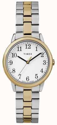 Timex Einfache 30mm Edelstahl Uhr für Leserinnen TW2R58800
