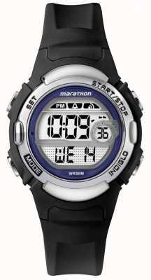 Timex Marathon schwarze Gummiuhr TW5M14300