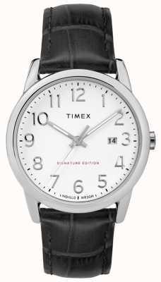 Timex Einfache Lesersignatur mit Datumsanzeige aus 38 mm Leder TW2R64900