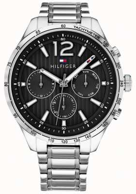 Tommy Hilfiger Herren Gavin Chronograph Armbanduhr aus Edelstahl 1791469