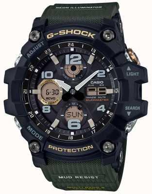 Casio G-Schock Mudmaster Waveceptor grünes Armband GWG-100-1A3ER