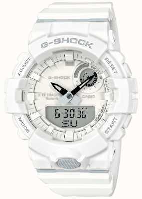 Casio G-Schock Bluetooth Fitness Schritt Tracker weißen Gurt GBA-800-7AER