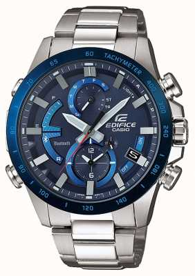 Casio Edifice bluetooth tough solar super illuminator blau EQB-900DB-2AER