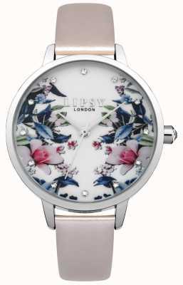 Lipsy Damen Blumenmuster Uhr LP574