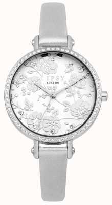 Lipsy Damenarmbanduhr mit silbernem Armband LP567