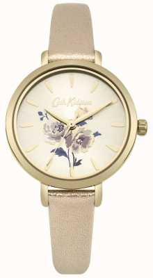Cath Kidston Metallic-Goldbanduhr der Dameninsel-Bündel CKL049G