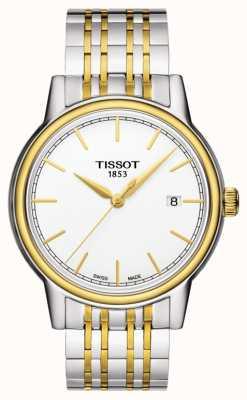 Tissot Carson Herren Quarz | Edelstahlarmband | Swiss Made Date T0854102201100