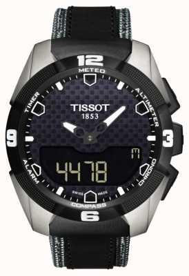 Tissot Herren t-touch expert solar Titan Doppelsensor Leder T0914204605101