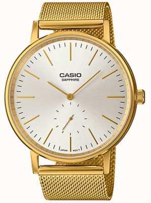 Casio Saphir-Edelstahl-Armband LTP-E148MG-7AEF