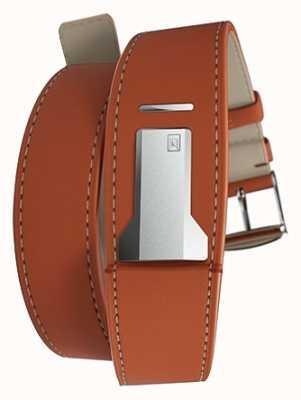 Klokers Klink 02 orange Doppelgurt nur 22mm breit 420mm lang KLINK-02-420C8