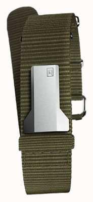 Klokers Klink 03 Flechten Textil Einfachgurt nur 20mm breit 230mm KLINK-03-MC2