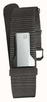 Klokers Klink 03 schwarzes Textileinzelband nur 20mm breit 230mm KLINK-03-MC3