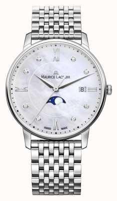 Maurice Lacroix Womens Eliros Mondphase Perlmutt Armband EL1096-SS002-170-1